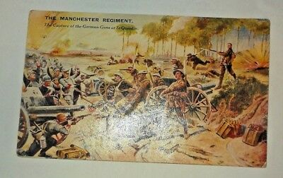 Rover Comic - Battles for the Flag 1939 - Manchester Regiment - St. Quentin