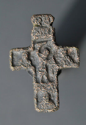 Medieval cross. Ancient find №286 Metal detector finds 100% original