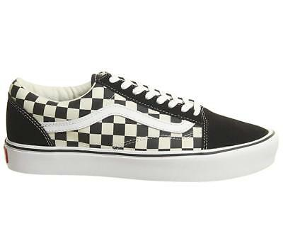2626ab764ca VANS OLD SKOOL Lite Ultracush Gargoyle Gray White Mens Sz 13 ...