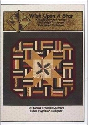 Kansas Troubles Quilters Pattern: Wish Upon A Star - Christmas w/ Holiday Colors