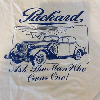 Lot Of 3 Vintage Packard Car Graphic Tshirt Size M & Xl Made In The Usa