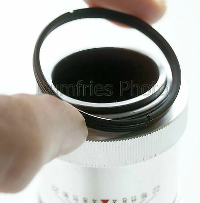 Quality M39 to M42 (39mm - 42mm) screw mount lens adapter.Fits Leica & Zenit M39
