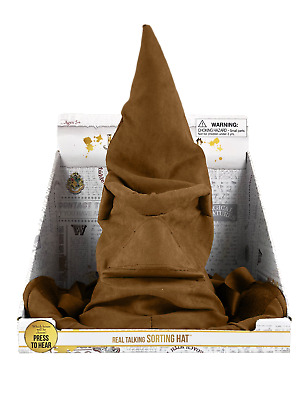 """Harry Potter 17"""" Real Talking Sorting Hat - TALKING & ANIMATRONIC MOUTH MOVEMENT"""
