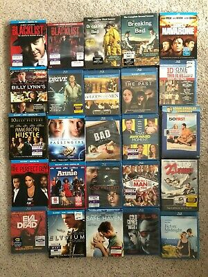 ANY TWO Blu-Ray, DVD, 3D MOVIE BUNDLE for $12 ONLY New Wrapped, Gift Idea NIB