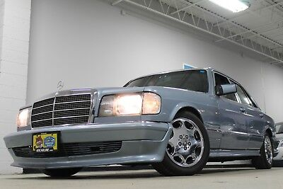 1985 Mercedes-Benz 300-Series AMG 1985 MERCEDES-BENZ 300SD AMG PACKAGE (SUPER RARE AND ONE OF A KIND)
