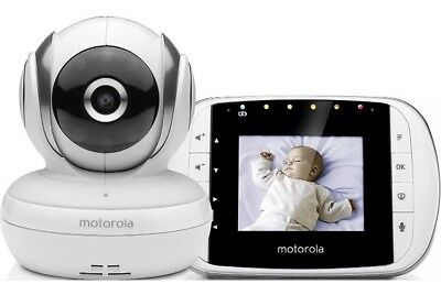 Motorola MBP 33S - Digital Video baby monitor with 2.8 inch colour display