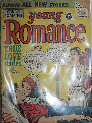 Young Romance Comic # 5  Arnold Books 1950s