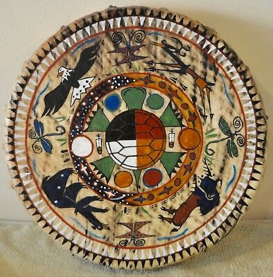 A Prayer For Mother Earth/Painted By Lakota Artist Sonja Holy Eagle
