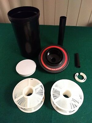 Paterson Super System 4  Film Developing Tank with 2 adjustable reels 35 and 120