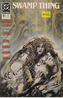 DC Comics Swamp Thing Annual No. 5 of 7, 1989 Very Good