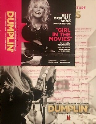 "DOLLY PARTON CD from DUMPLIN' ""Girl in the Movies"" For Your Oscar Consideration"