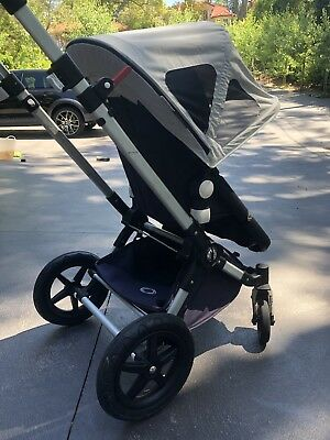 Bugaboo Cameleon 3 Stroller and Bassinet-  Classic Navy Blue Limited addition.