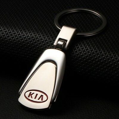2019 Hot sale KIA Car Logo Creative Keychain Metal Keyring