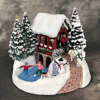 2018 Thomas Kinkade Snowfall Dreams Collectible- Low Shipping- Shipped Same Day!