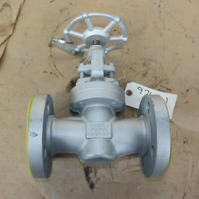 "BONNEY FORGE 083224-0026 1 1/2"" INCH flanged globe valve DN40 40mm WCB Class 600"