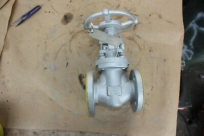 "BONNEY FORGE 121356-0036 1"" INCH flanged gate valve DN25 25mm WCB Class 150"