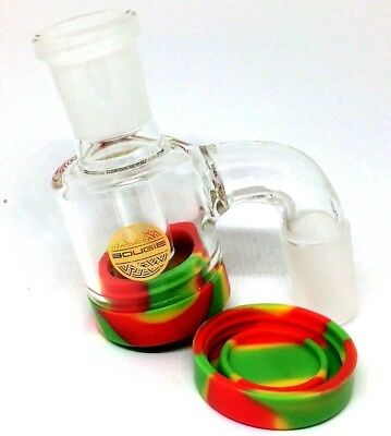 Bougie Glass Reclaim Collector Catcher 18mm Male - Adapter Connector w Banger