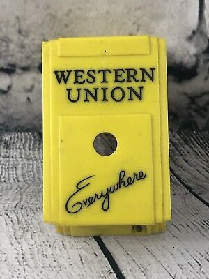 Western Union Everywhere Call Box Cover For Telegraph
