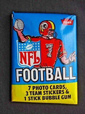 1979 Fleer *nfl Football* Sealed Wax Pack