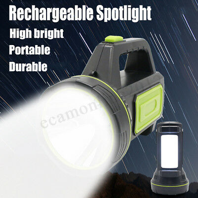 135000Lm Led Rechargeable Work Light Torch Candle Camping Spotlight Hand