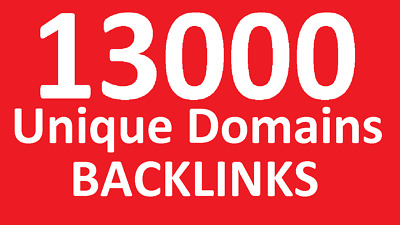 13 000 Seo Backlinks - Unique Dofollow Backlinks From 13 000 Domains Google Rank