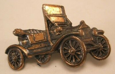 Antique Car Vintage Tie Tack Lapel Pin model at ford copper gift