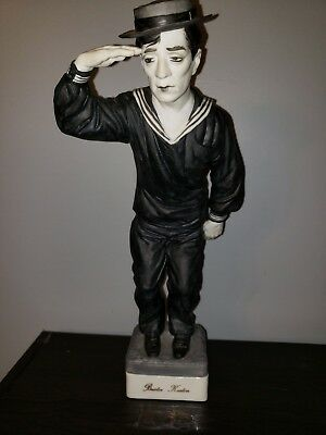 Buster Keaton - Great Entertainer Series Statue / Figure By Expressive Designs