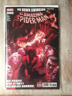 The Amazing Spiderman 800 RED GOBLIN NM FIRST PRINT Marvel Comics