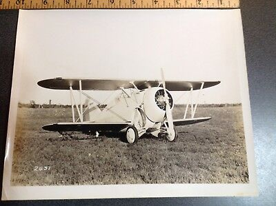 606 Original Photo Military Aircraft XF2F-1 Silver Gelatin US Navy