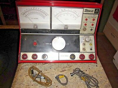 vintage Snap On MT 540 altenator tester rat rod