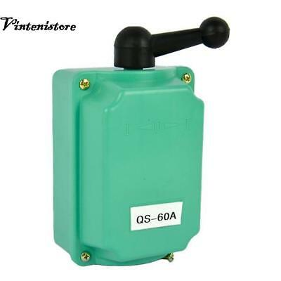 60A Drum Switch Forward/Off/Reverse Motor Control Rain-proof Reversing VTSR