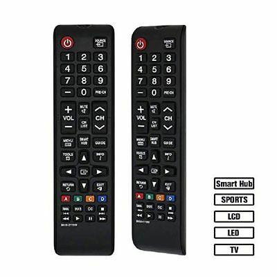 Black Replacement Universal TV Remote Control BN59-01199F for Samsung Smart TV