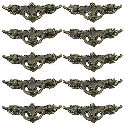 10PCS Antique Bronze Cabinet Handles 64mm Vintage Style Drawer Pull Knobs Pulls