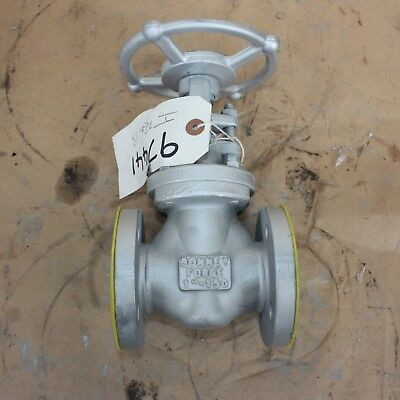 "BONNEY FORGE 121356-0036 1"" INCH flanged gate valve DN25 25mm Class 150 A105N"