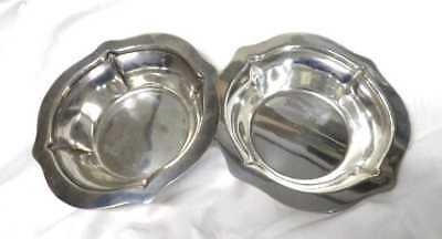 Gorham Sterling Silver Matched Pair of Nut Dishes