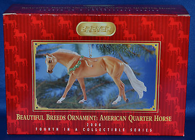 Breyer~Christmas 2006~Beautiful Breeds~American Quarter Horse Holiday Ornament