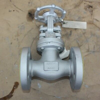 "BONNEY FORGE 131419-0023 3/4"" INCH flanged gate valve DN20 20mm Class 300 A105N"