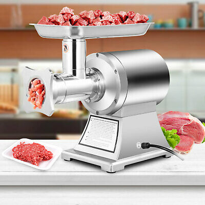 Meat Mincer Grinder Butcher Mincing Machine 250 Kg/h Electric Homemade 190RPM