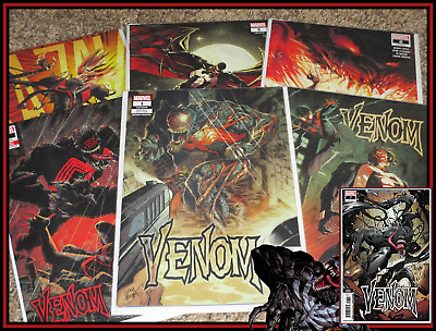 Venom #1 2 3 4 5 6 7 Set Stegman 2Nd Print Variant Lot 1St Knull Marvel 9.4 Nm