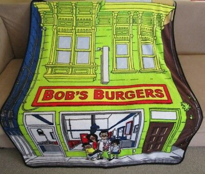 bob s burgers soft fleece blanket officially licensed colorful
