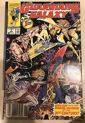Guardians of the Galaxy 1 (June 1990, Marvel) 9.2 NM- Condition
