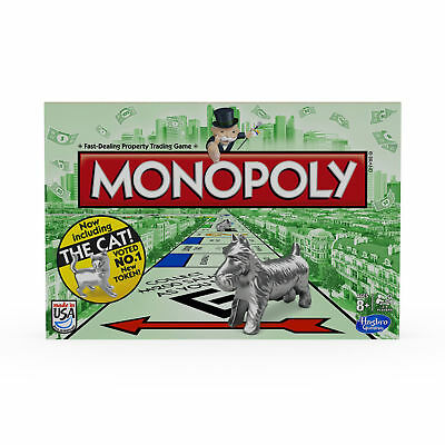 Monopoly The Classic Edition Traditional Family Fun Board Game Property Trading
