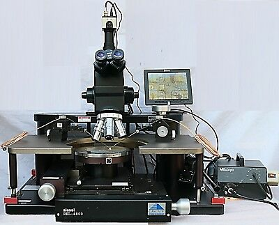 Cascade Microtech REL 4800 Manual 8 inch Prober MH DC Probes Mitutoyo MicroScope