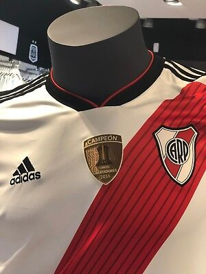 River Plate 2019 Home Soccer Jersey Shirt Climacool Champions COPA LIBERTADORES
