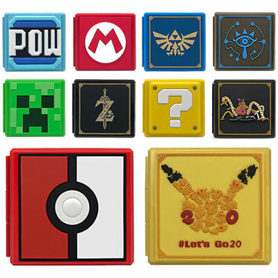 New Nintendo Game Card Case Holder Storage Box Travel Carry Protector Cover