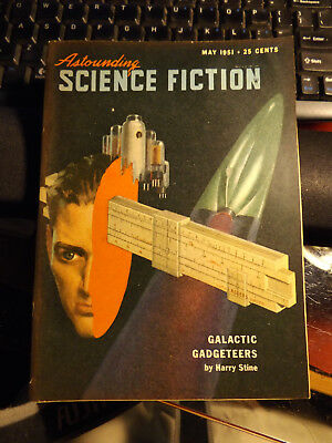 May 1951 Astounding Science Fiction- Harry Stine - Galactic Gadgeteers