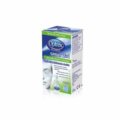 OPTREX ACTIMIST SPRAY 2 IN 1 - Occhi stanchi e Arrossati - 10ml - Lenitivo