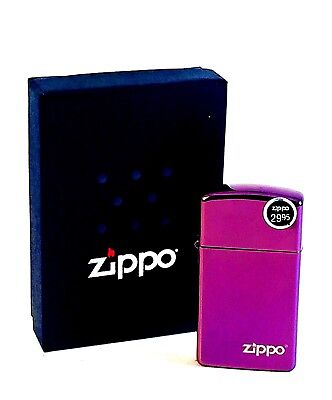 BRAND-NEW Zippo Abyss Slim Lighter With Zippo Logo Windproof In Box, # 28124ZL