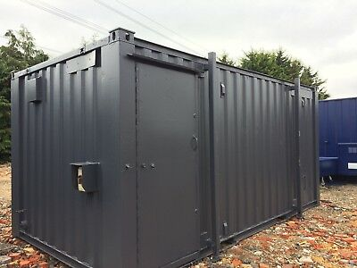 16ft x 9ft 3+1 Anti Vandal Site Toilet/ Portable Building /Toilet Block 3000+VAT