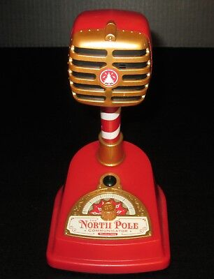 2013 HALLMARK North Pole Communicator Model 1225 w/ Red Cartridge TESTED WORKING